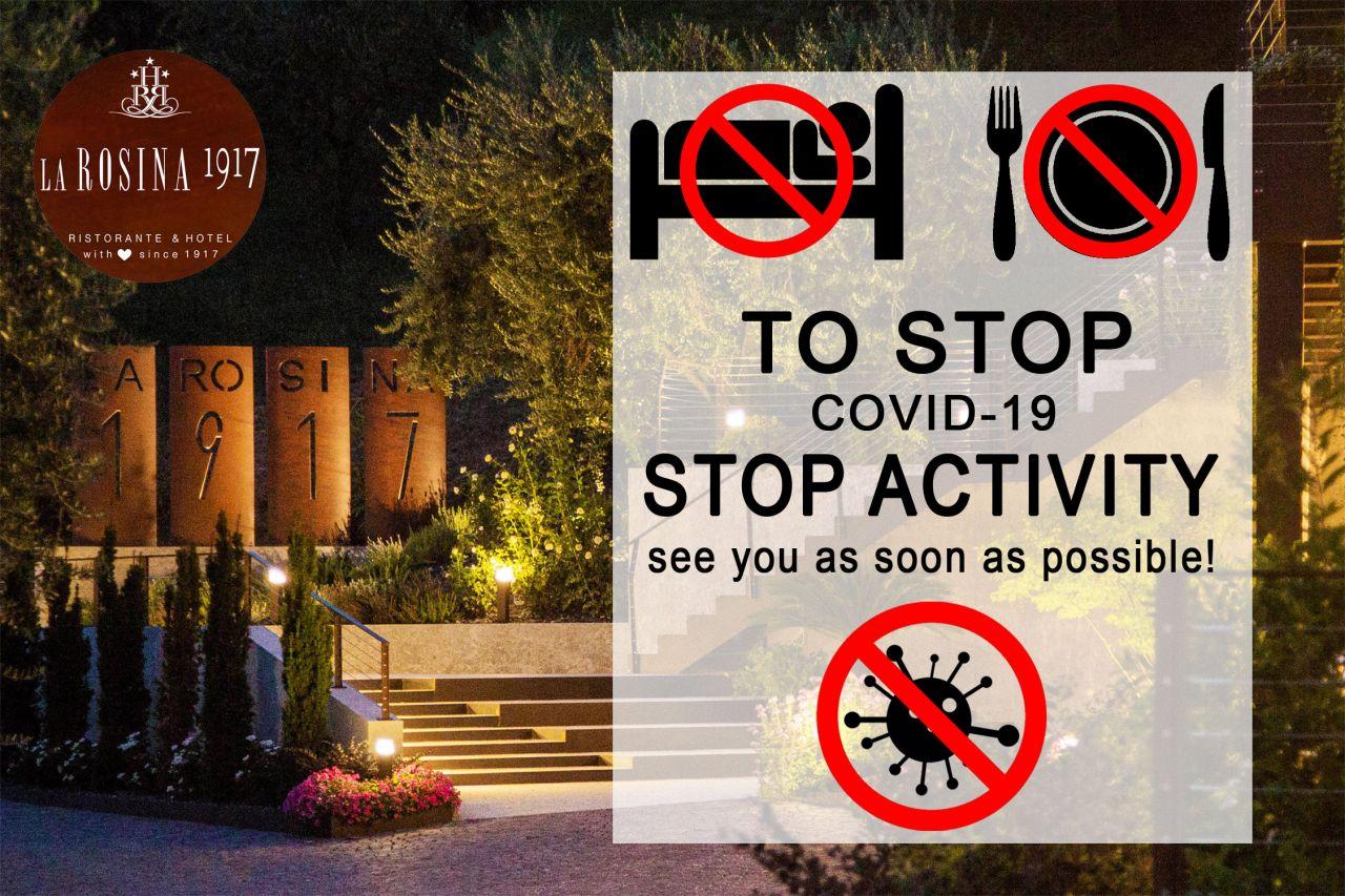 Chiusura attività di ristorante e hotel per covid-19
